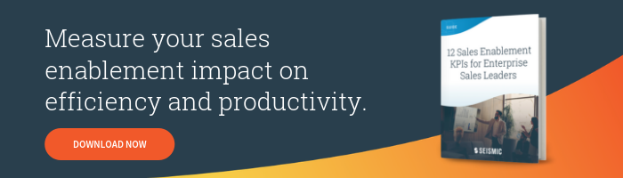 Download Now - 12 Sales Enablement KPIs for Enterprise Sales Leaders