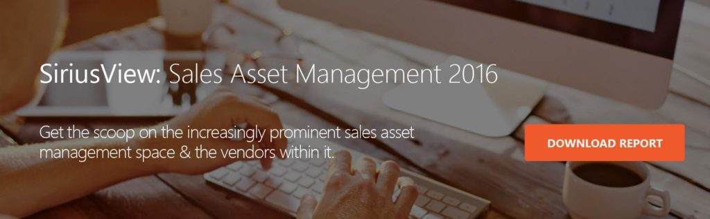 What is Sales Asset Management—and Why Should You Care?