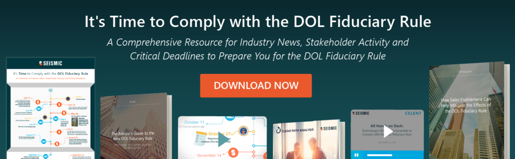 5 Things Advisors Need to Know about the DOL Fiduciary Rule