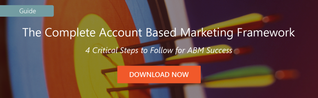 Traditional Marketing Playbooks for Account Based Marketing