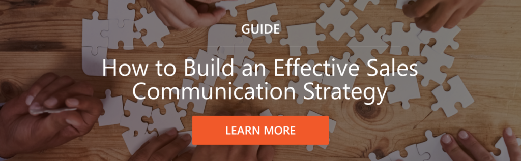 A Sales Communication Strategy is Inherent to Sales Enablement Best Practices