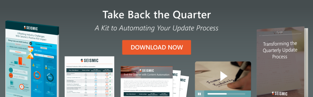 Can Content Automation End the Quarterly Update Crisis?