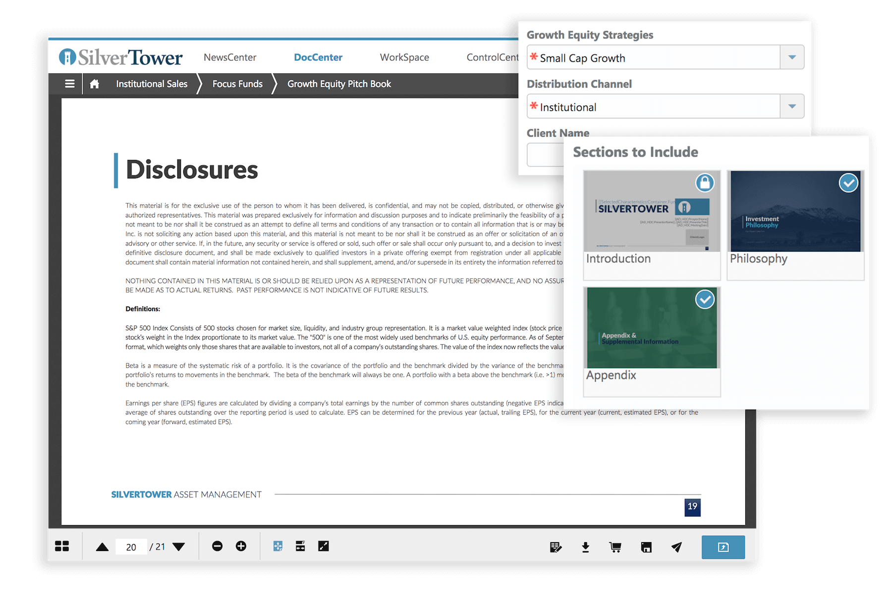 automated-disclosures-pitchbook-builder