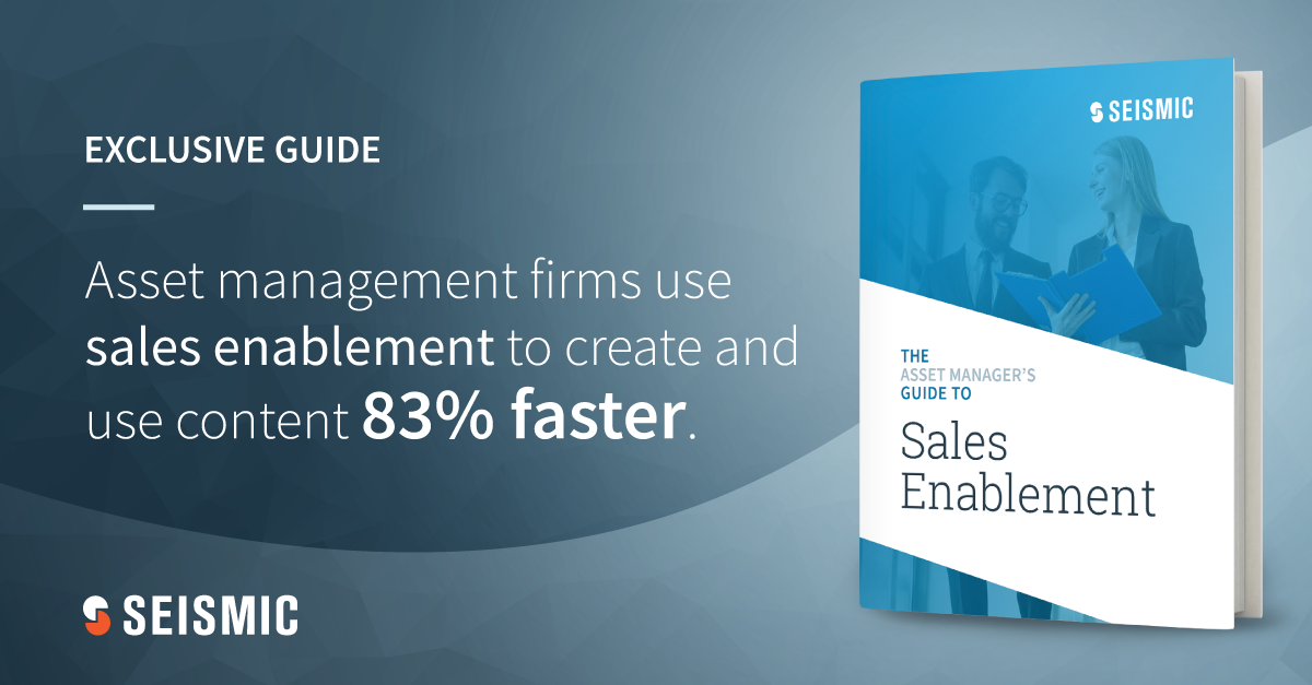 asset manager guide to sales enablement