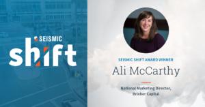 Seismic Shift Ali McCarthy