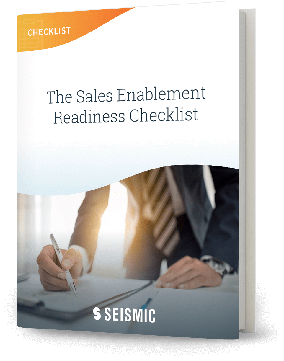 sales enablement checklist