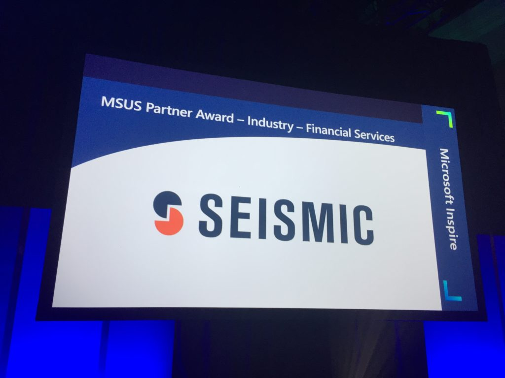 What Makes Seismic Microsoft's US Financial Services Partner of the Year?
