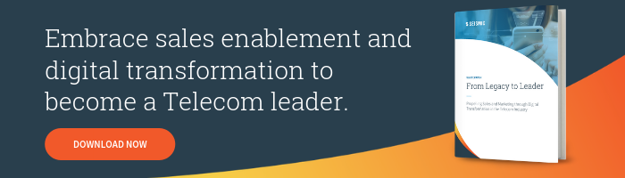 sales enablement guide for telecom