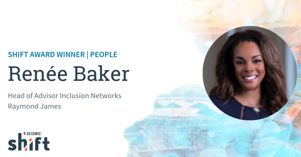 Meet Renée Baker, Seismic's 2019 Shift Award Winner for People