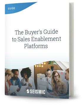 The Buyers Guide to Sales Enablement Platforms