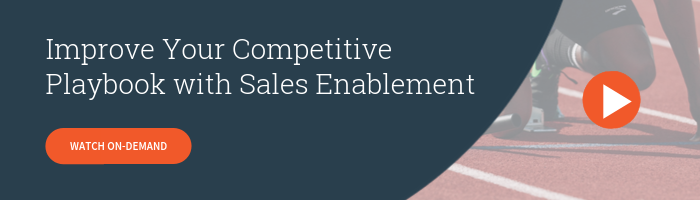 Watch On-Demand - Improve Your Competitive Playbook with Sales Enablement