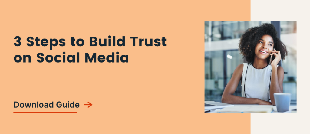 Download Guide: 3 Steps to Build Trust on Social Media