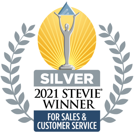 Seismic_award_Sales_Customer_service_Silver_Stevie_Winner 2021