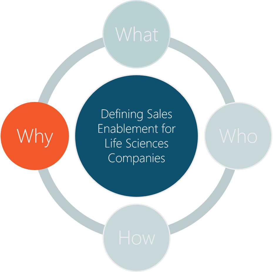The Who, What, How and Why of Sales Enablement for Life Sciences Companies: Part 3